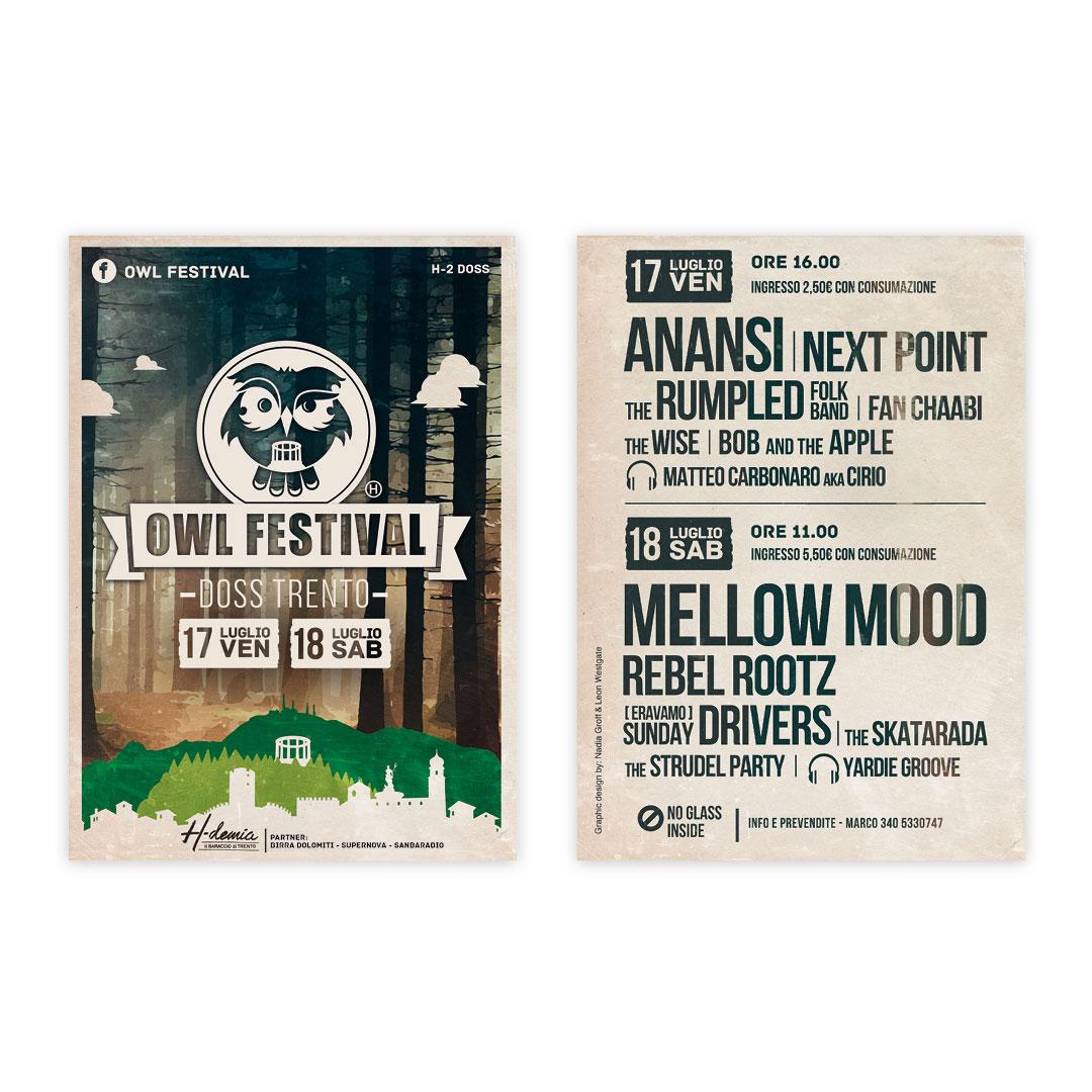 Nadia Groff - Owl Festival - Music Summer Festival - Trento - 1 edition