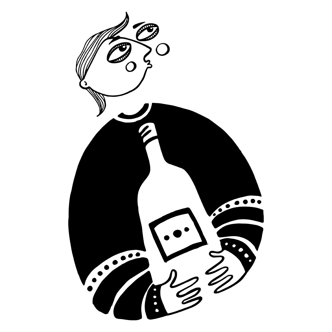 Nadia Groff - Wine Lovers - character design - man