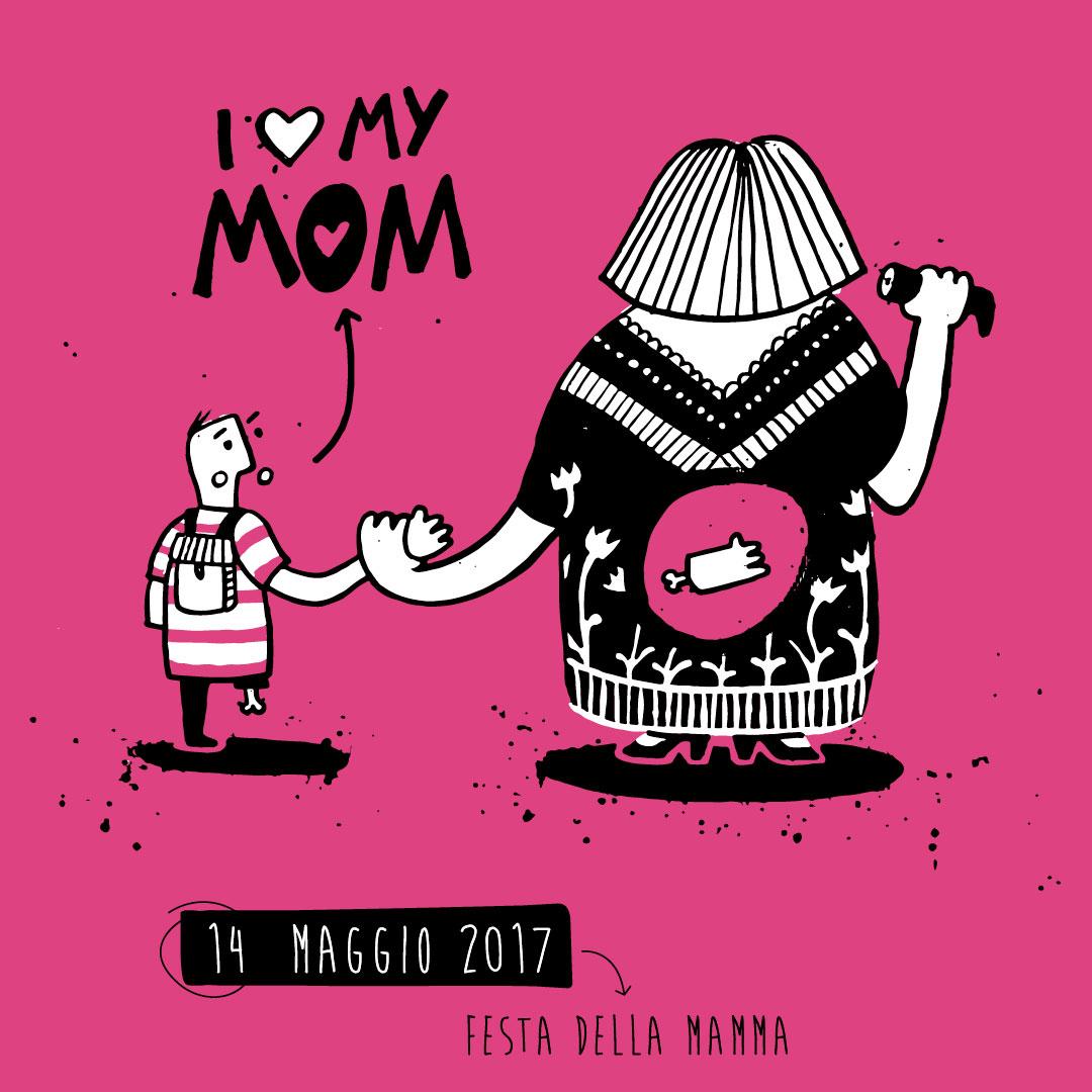Nadia Groff - calendario - ngr - festa della mamma
