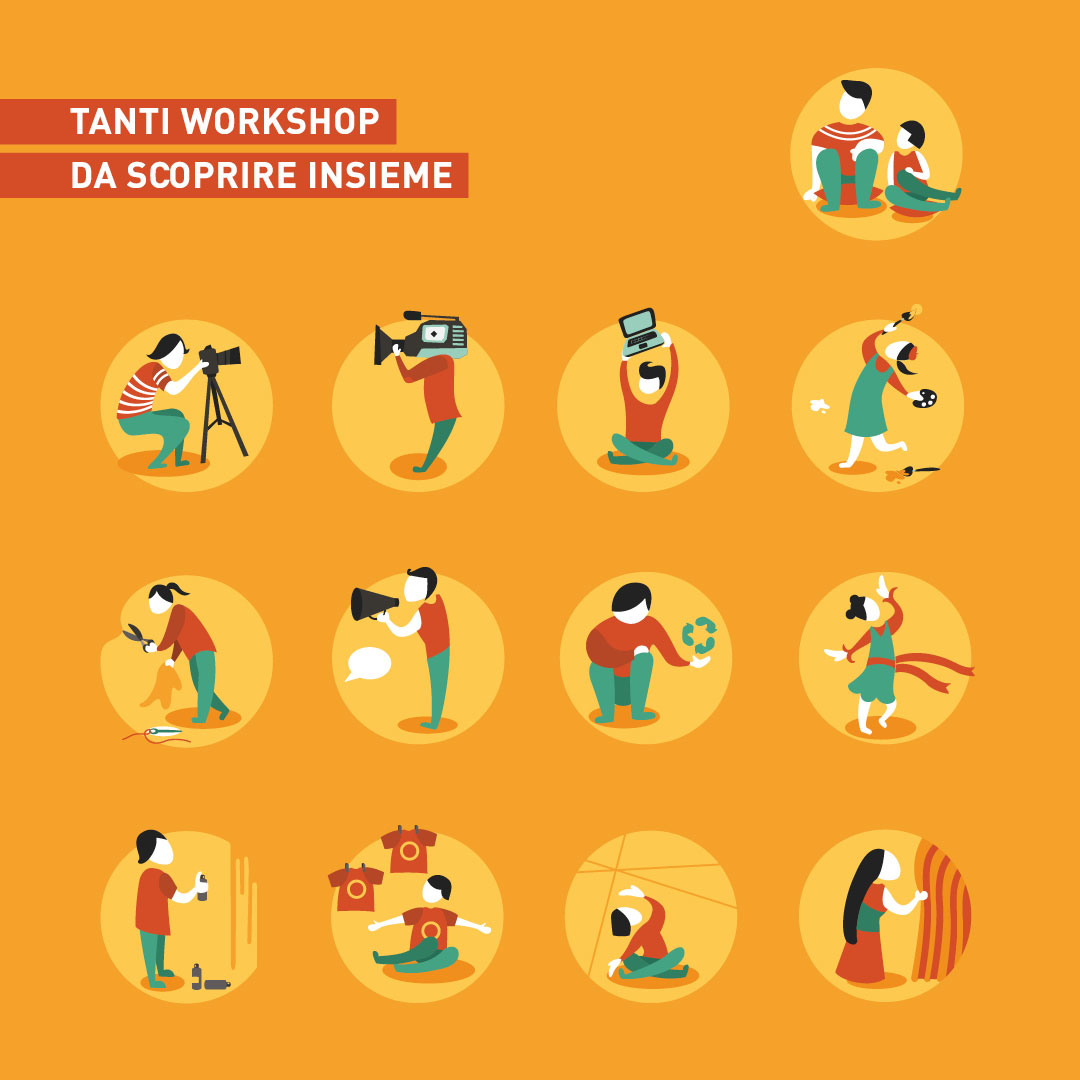 Nadia Groff - Start - Summer Temporary Art - Workshop - Creatività - Trento - laboratori