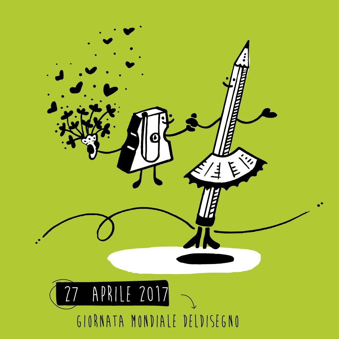 Nadia Groff - calendario - ngr - giornata mondiale disegno