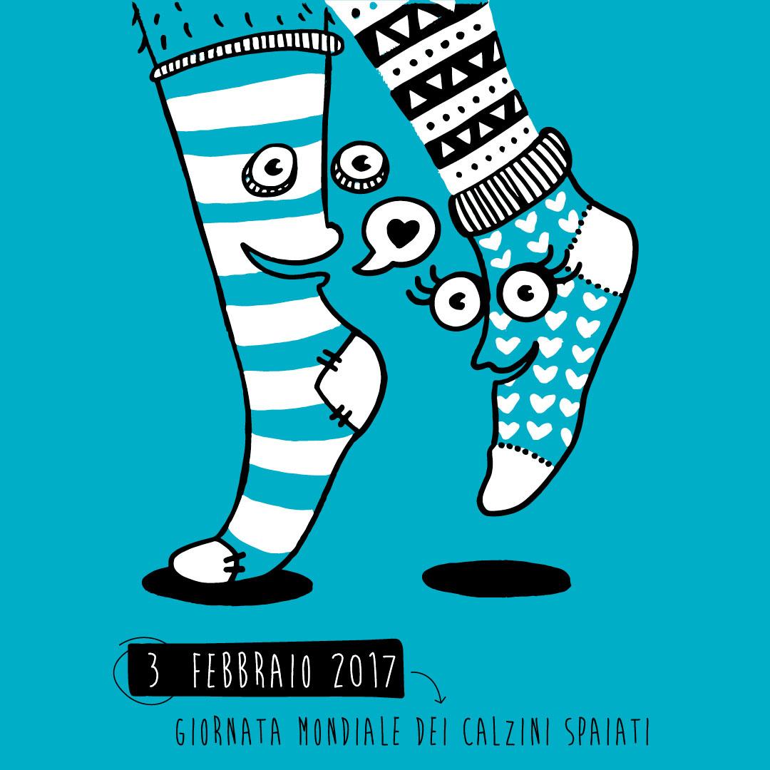 Nadia Groff - calendario - ngr - calzini spaiati