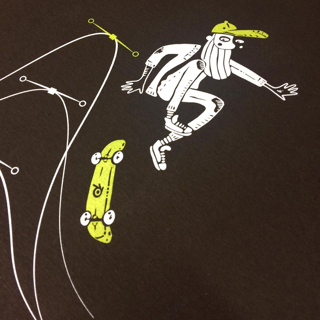 Nadia Groff - T-shirt Blender -Skater