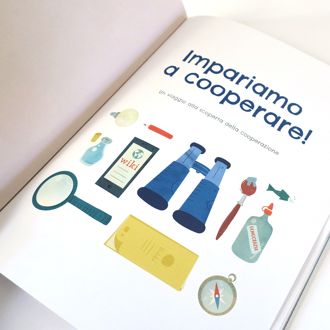 Nadia Groff Illustration Children's Book - Impariamo a Cooperare 4