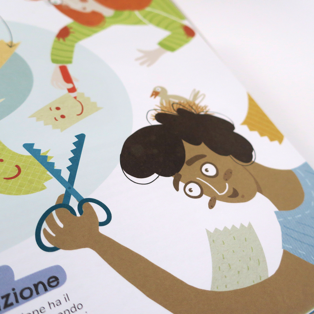 Nadia Groff Illustration Children's Book - Impariamo a Cooperare 6